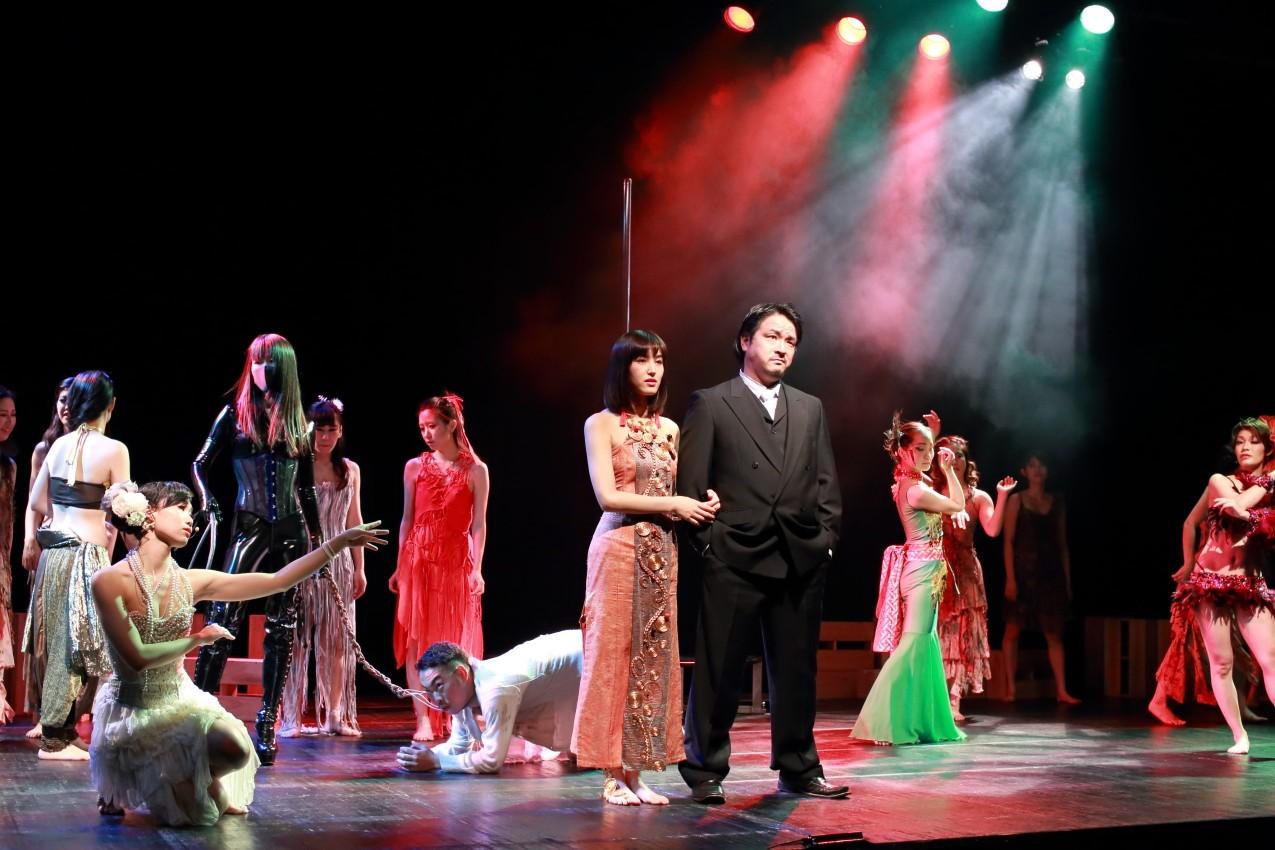 「耽美・幻想・官能」的な舞台作品に出演する 俳優・ダンサー、モデルを募集!