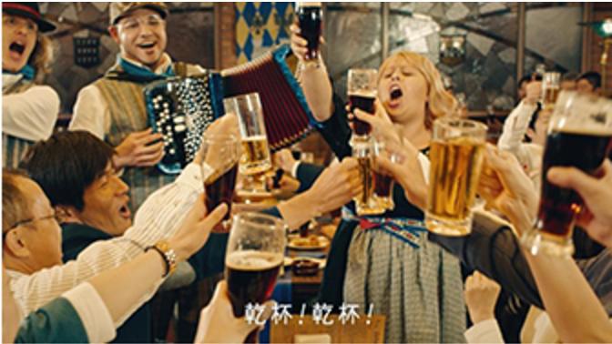 【福山ゆずゆ】アサヒスーパードライドライブラック『ビアホール仕立ての黒』編CM